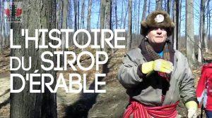 L'histoire du sirop d'érable