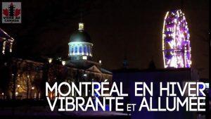 Montréal en hiver : vibrante et allumée